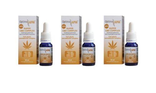 Alpha CBD Öl (Cannabinoidkomplex) 10% 3 x 10 ml