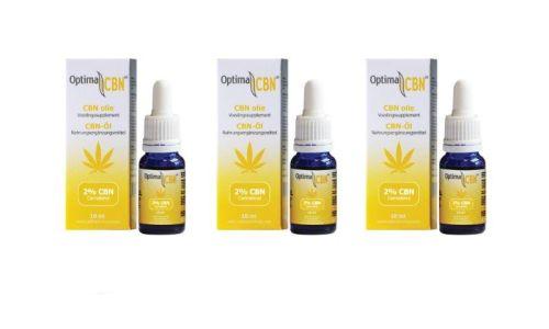 CBN Öl (Cannabinol) 2% 3 x 10 ml